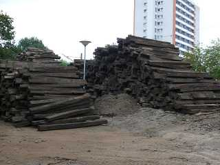 Holzschwellen